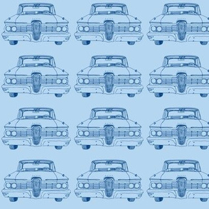 Nifty Fifties 1959 Edsel Ranger or Corsair in blue