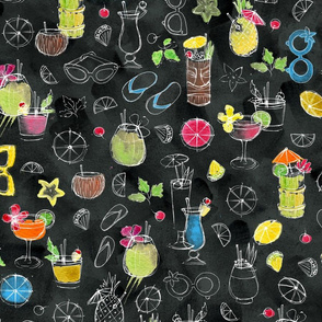 Tropical Cocktails - © Lucinda Wei