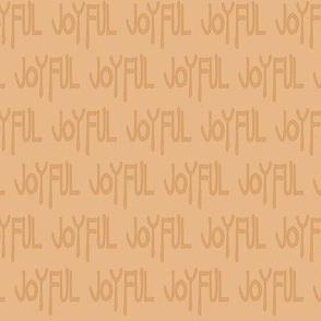 Joyful Proclamation - Caramel Cream