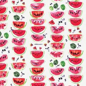 Watercolor watermelons