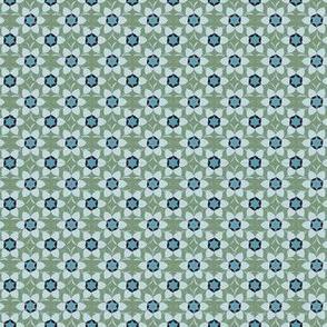 Linnea Olive blue
