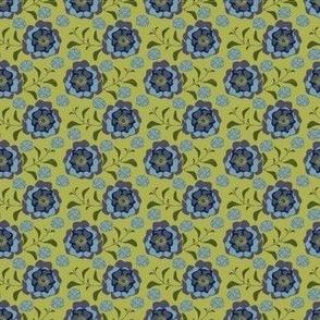 GRETA lime blue