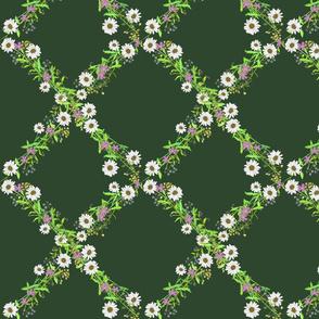 Picked flowers_Deep green