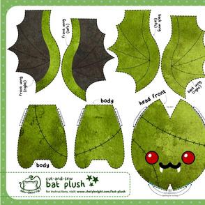 Cut & Sew Bat Plush Zombie