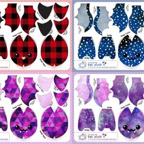 Cut & Sew Bat Plush Bundle Dark