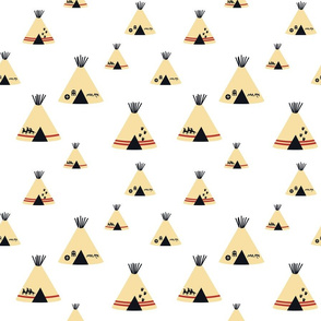 Teepees - White