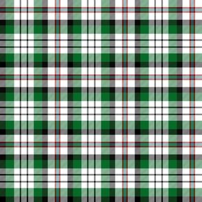 "MacDuff dress tartan - 6"" green/white"