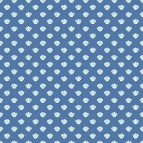 Sea shells - blue