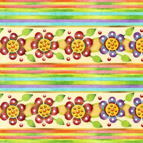 Parterre Botanique Floral