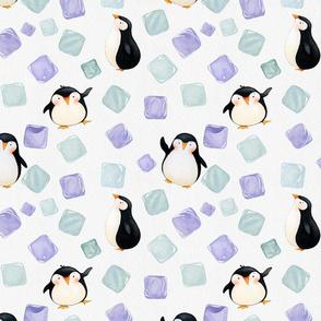 Ice Cube Penguins I