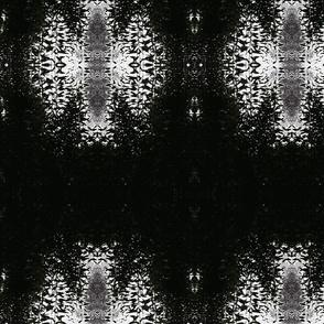 silhouette mandalas