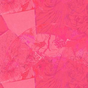 Wild Orchids-magenta background