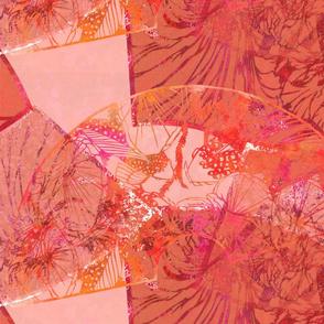 Wild Orchids-bright magenta background