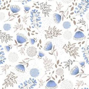 Pin cushion in blue
