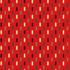 Red Forest Rectangles by Cheerful Madness!!