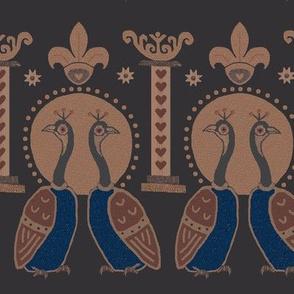 Persian Peacocks