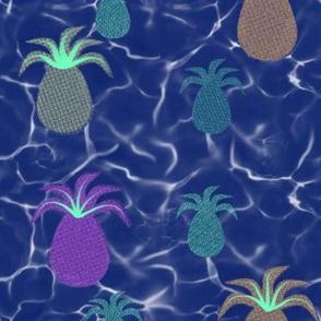 Blue Hawaii Pineapples