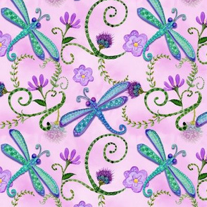 _TK-Dragonfly_Whimsical_Watercolor_Pink_Pattern