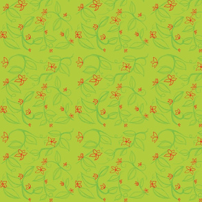 Isley's Vines (on green)