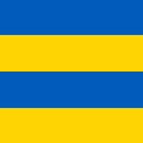 modern plaid check yellow and blue