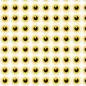 owl's eyes for rag owl dolls