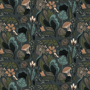 Jungle Whimsy-Dark