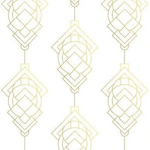 Vintage Inspired Geometric Pattern