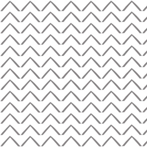 Woodblock Arrows - White/Titanium