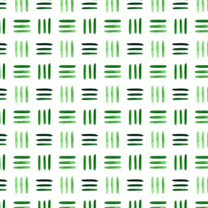 Green watercolor pattern