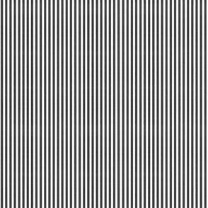 Denim Stripes - Black White Chambray