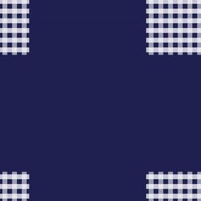 Boho Mudcloth Linen . Stormy Woodblock