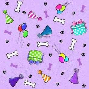 KiniArt Dog Lovers Birthday