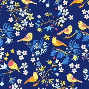 Boys Room Birds and Blossom