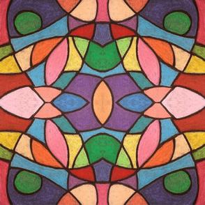 Pastels on Black - Horizontal