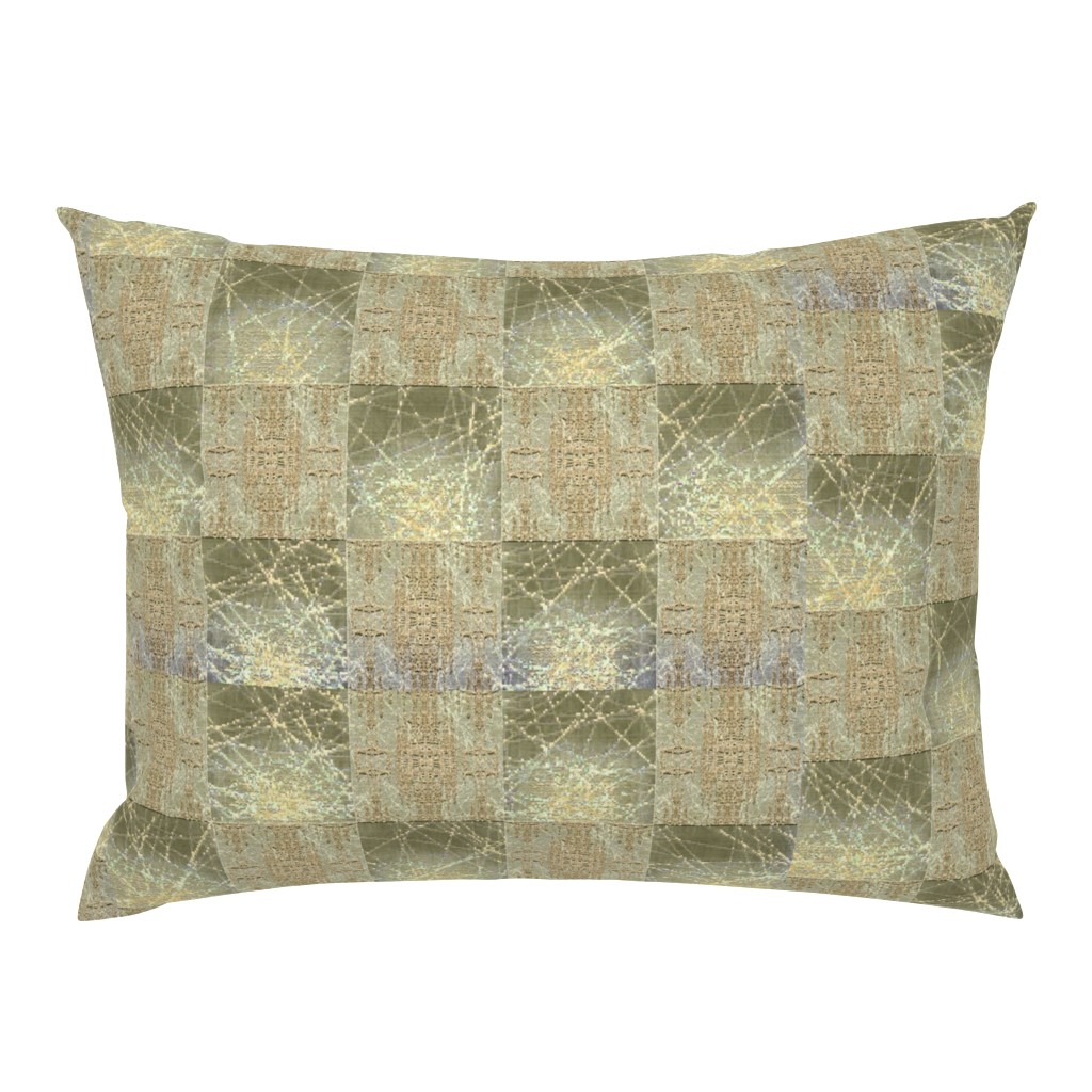 Campine Pillow Sham featuring beige_and_gray by snarets