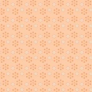 Court & Spark - Scandi Flowers Pale Orange