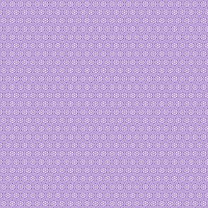 Court & Spark - Mini Dot Flowers Violet