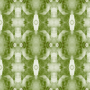 Organic Geometry Pattern_5b_green