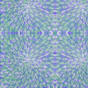 Blue Green Watercolor Dabbles