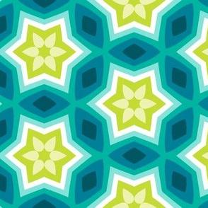 Star's Heart - Cool Blue Green