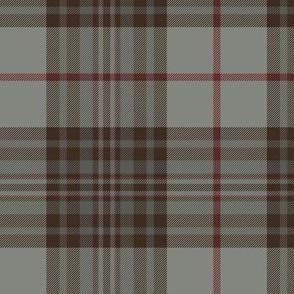 """Southdown tartan - 6"""" grey/brown"""
