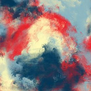 Hawaiian Morning Mist - Red Sand Blue Gray