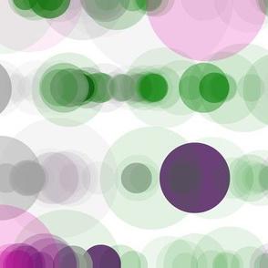 Wisteria Fern bubble rain
