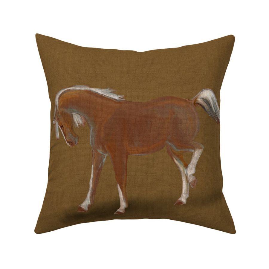 FAUNE//ANIMAUX ART DE LIN//TOILE housses de coussin faisan Stag vache cheval Fox