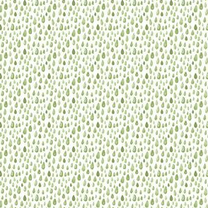 Grass green watercolor spots || abstract rain drops spring Miss Chiff Designs