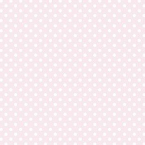 Spots on Baby Pink Small