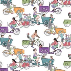 DutchCargo  Bakfiets Bikes in Color