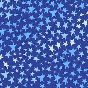 Blue Stars by Angel Gerardo
