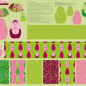 Dolltastic 1 yard skirt pattern