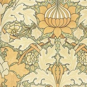 William Morris ~ St. James or Growing Damask ~ Original on Mori